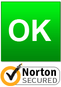 Seguro, analizado por Norton SafeWeb